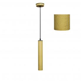 Світильник підвісний Трубка MSK Electric Е27 метал (MR 3522 GD)