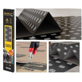 Підкладка Arbiton SECURA LVT Click Smart Easy N гармошка 1мм 6,25 м2