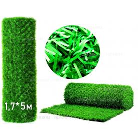 Забор Green mix зелёная трава H -1,5х10