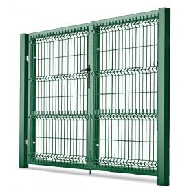 Ворота распашные 4х1,23 м/ППЛ