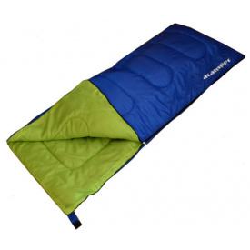 Спальник-ковдра ACAMPER 300g/m2 синій