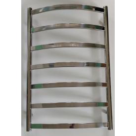 Полотенцесушитель из нержавеющей стали водяной лестница 800х500