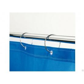 Карниз в ванную для занавески прямой 180см Комфорт