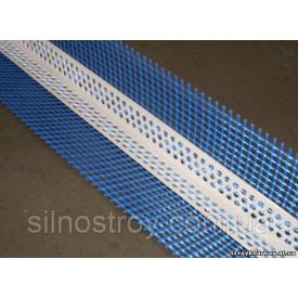 Профиль PVC уголок пластиковый с армирующей сеткой 2,5 м