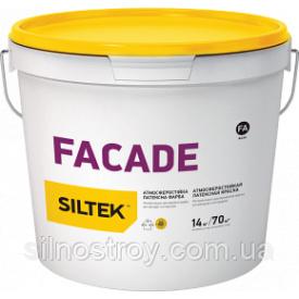 Атмосферостійка латексна фарба Siltek Facade 14 л