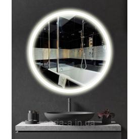 Зеркало круглое с подсветкой LED в ванную ML - 14 50х50