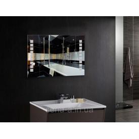 Зеркало с LED подсветкой квадраты ML - 04 (800х600х30)