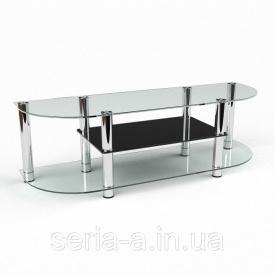 Тв-тумба Айм прозрачное и тонированное стекло 1100х400х520