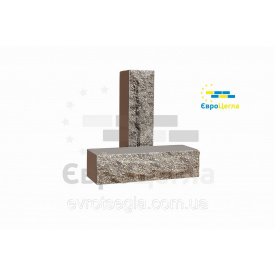 Облицювальна цегла ложкова Скеля 250х90х65 мм