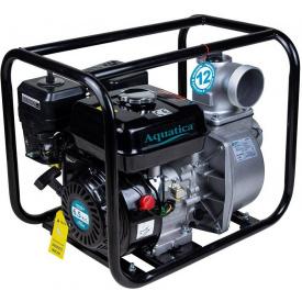 Мотопомпа Aquatica 6.5 л. с. Hmax 30 м Qmax 65 м (4-ех тактный) (772532)