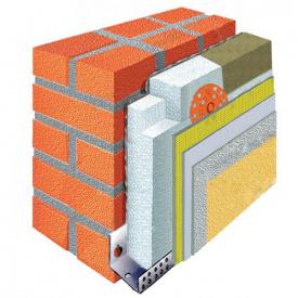 Расчет материалов для утепления фасада пенопластом 100мм Эконом