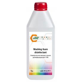 Універсальний миючий пінне дезінфікуючий засіб 1: 100 Washing foam disinfectant 1 л