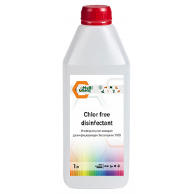 Универсальное моющее дезинфицирующее бесхлорное средство 1:100 Chlor free disinfectant 1 л