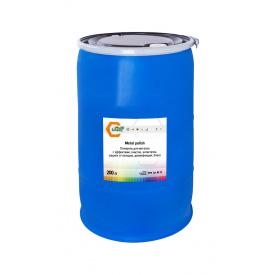 Полироль для металла с эффектами: очистка, антистатик, защита от пальцев, дезинфекция, блеск 200 л