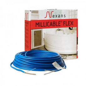 Двужильный греющий кабель Nexans Millicable Flex/15 12м² 1800W
