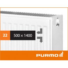 Сталевий панельний радіатор PURMO Compact 22 500x 1400