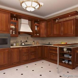 Классическая кухня из дерева Код: КГ-5 Под заказ
