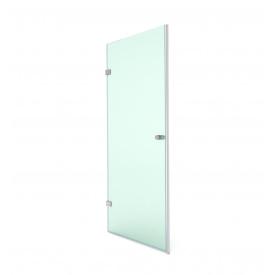 Распашная душевая дверь в нишу 190х80 СтеклоДизайн