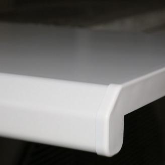 Підвіконня Danke Standard матовий 250 мм білий