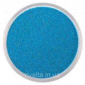 Цветной песок RAL 5019 Капрі синій