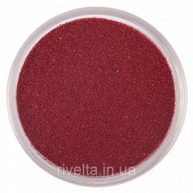 Цветной песок RAL 3005 Винно-червоний