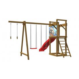 Детская деревянная площадка SportBaby №4