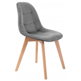 Стильный мягкий стул обеденный Split-СХ Richman на деревянных ножках на кухню