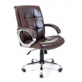 Офісне крісло Richman Арізона Хром кожзам коричневий
