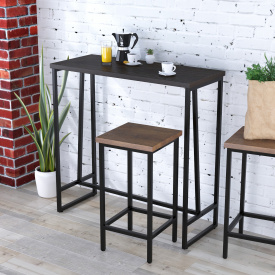 Барний столик BS-110 Loft-design Венге-корсика