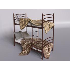 Двоярусне ліжко Tenero Маранто 800х1900 мм металева