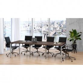Офисный стол для переговоров Loft-design Q-270 венге-корсика