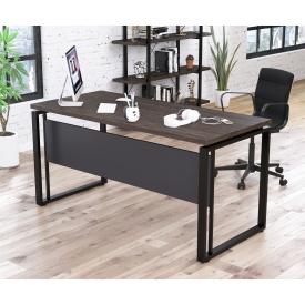Письменный стол Loft-design G-160-32 Венге-корсика с царгой