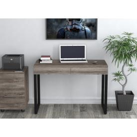 Письменный-компьютернй стол Loft-Design L-11 металлически ножки столешница лдсп