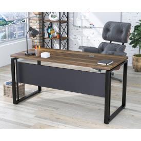Письменный стол Loft-design G-160-32 Орех-модена с царгой