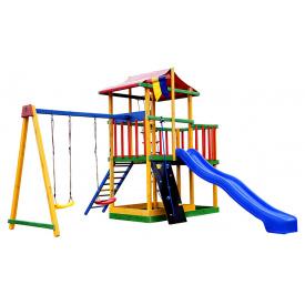 Игровой комплекс цветной SportBaby Babyland-11