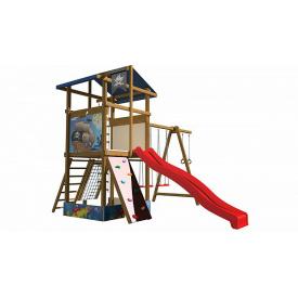 Детская площадка SportBaby-10 деревянная для улицы на даче
