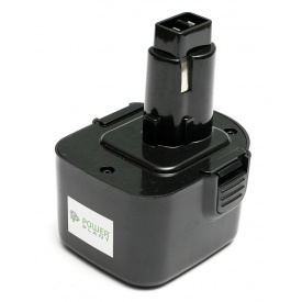 Аккумулятор PowerPlant для шуруповертов и электроинструментов DeWALT GD-DE-12, 12 V, 1.3 Ah, NICD DE9074 (DV00PT0033)