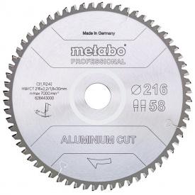 Пильный диск Metabo Aluminium cut HW/CT 305х2,6/2,2x30 Z84 FZ/TZ 5 град (628448000)
