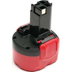 Аккумулятор PowerPlant для шуруповертов и электроинструментов BOSCH GD-BOS-9.6(A), 9.6 V, 1.5 Ah, NICD (DV00PT0029)