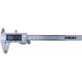 Штангенциркуль цифровой Sigma Profi 150 мм (3923011)