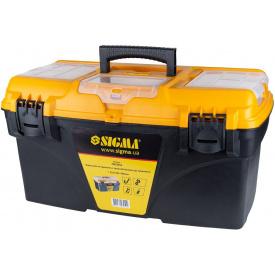 Ящик для инструмента Sigma со съёмными органайзерами (7403951)