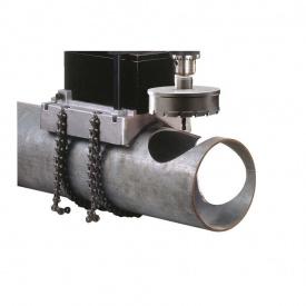 """Трубные тиски AGP 32х203 мм 1х1/4-8х1/4 для MD750/4"""" (0299-0062-00000-002)"""