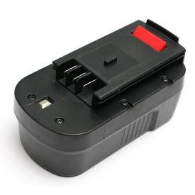 Аккумулятор PowerPlant для шуруповертов и электроинструментов BLACK&DECKER GD-BD-18(B), 18 V, 2 Ah, NICD (DV00PT0027)