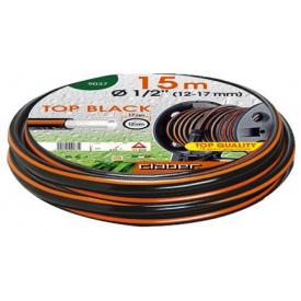 """Шланг поливочный Claber 1/2 """" 15 м Top Black (81872)"""