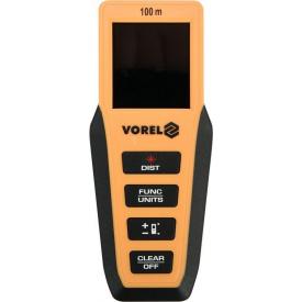 Дальномер лазерный VOREL 0.2х100 м (81795)