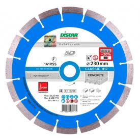 Алмазный диск Distar 1A1RSS/C3-W 232x2,4/1,6x12x22,23-16 Classic H12 (12315011018)