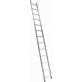 Алюминиевая односекционная приставная лестница Техпром 5113 1х13