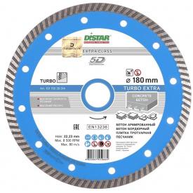 Алмазный диск Distar 1A1R Turbo 180x2,4x9x22,23 Extra (10115028014)