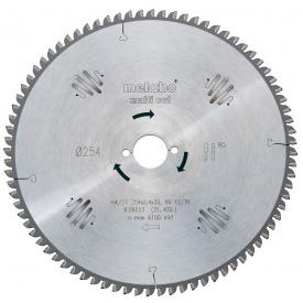 Пильный диск Metabo HW/CT 254x30 80FZ/TZ 5 (628093000)