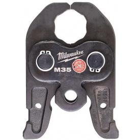 Сменные пресс-клещи Milwaukee J18-M35 для опрессовки труб (4932430254)